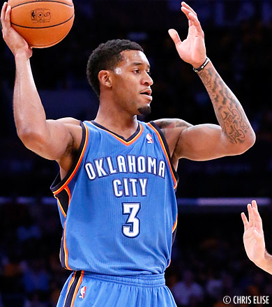 Le Thunder perd Perry Jones