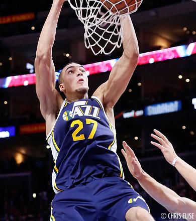 NBA Rising Stars Challenge : Rudy Gobert bien présent !