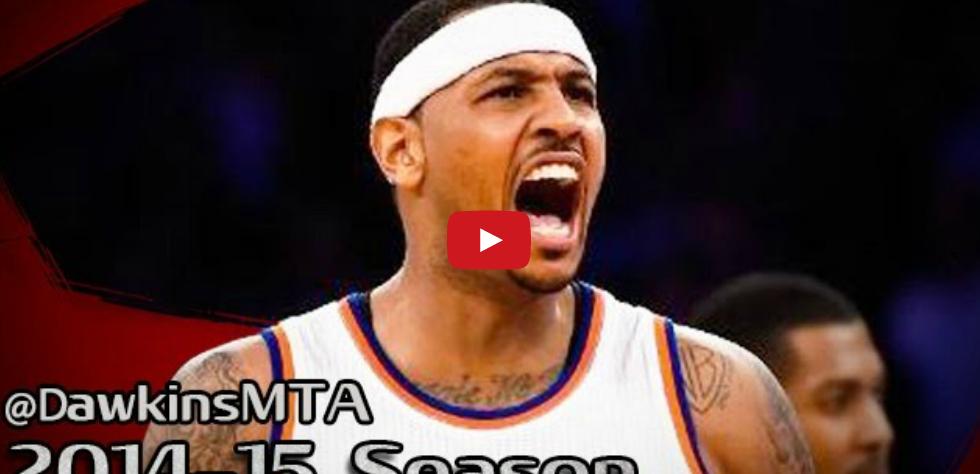 Perf : Les 34 points pour rien de Carmelo Anthony