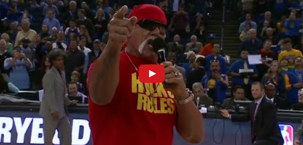 WTF : Hulk Hogan à la rescousse des Warriors