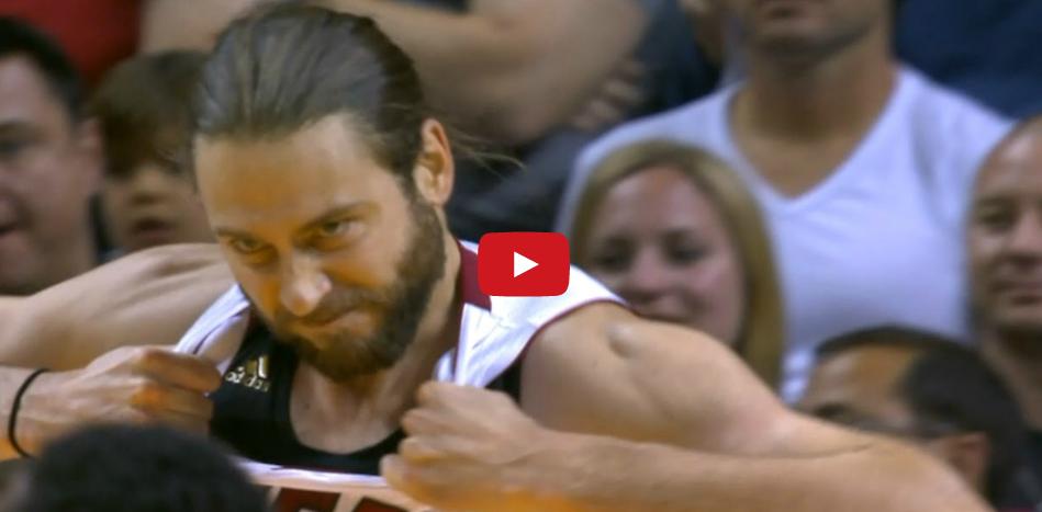 Vidéo : Josh McRoberts est un taré...
