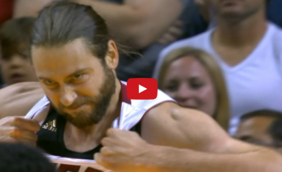 Vidéo : Josh McRoberts est un taré…