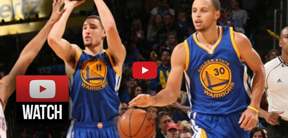 Perf : Les Splash Brothers font le spectacle face à OKC