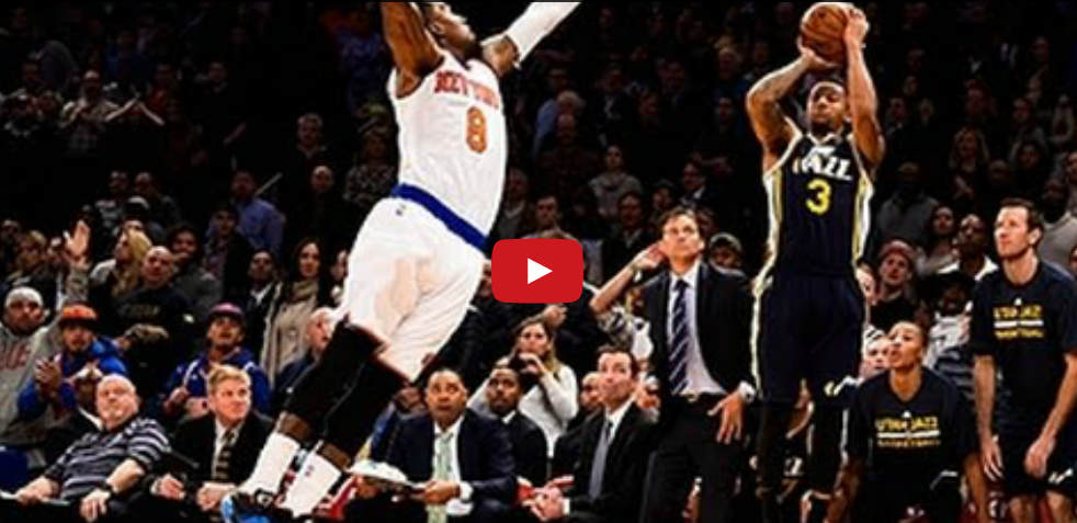 Clutch : Trey Burke assassine les Knicks au buzzer