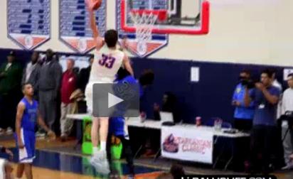 Chaud : Un lycéen claque un poster dunk monstrueux