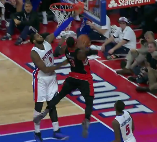 Top 10 : James Johnson écrabouille Andre Drummond