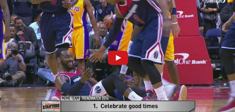 Bêtisier 2014-2015 : Les danses sont de retour en NBA !