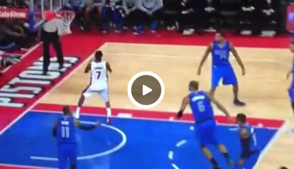 Dingue : Quand Brandon Jennings refuse un lay-up facile