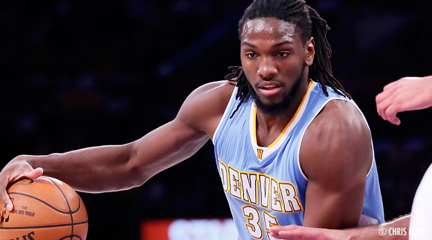 Perf : Kenneth Faried trop fort pour les Lakers (28 pts, 15 rbds)