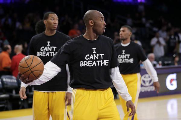 Kobe Bryant et les Lakers rendent aussi hommage à Eric Garner