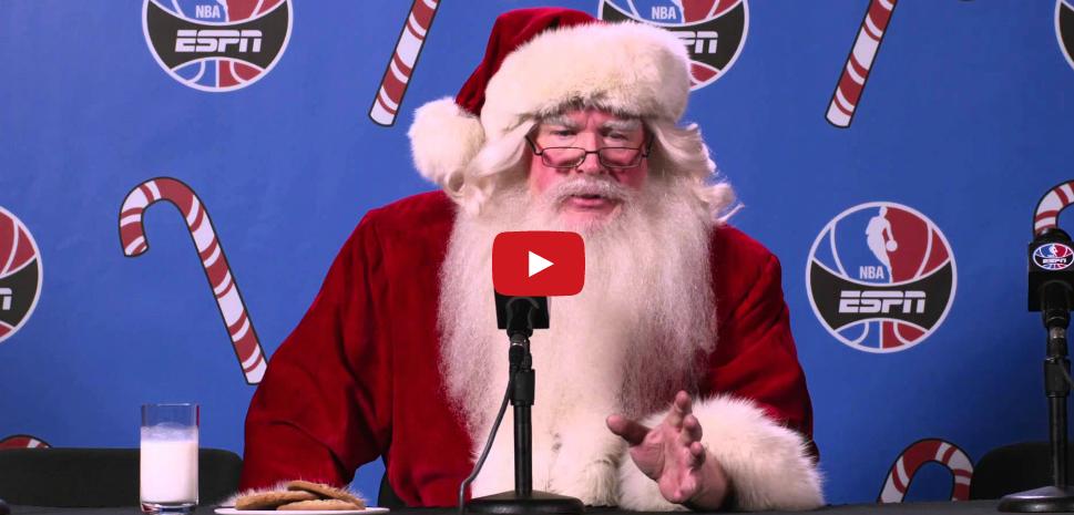 Pub : Quand le Père Noël s'inspire d'Allen Iverson !