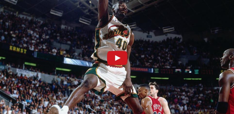 Vintage : Shawn Kemp explose le top 10 (1994)