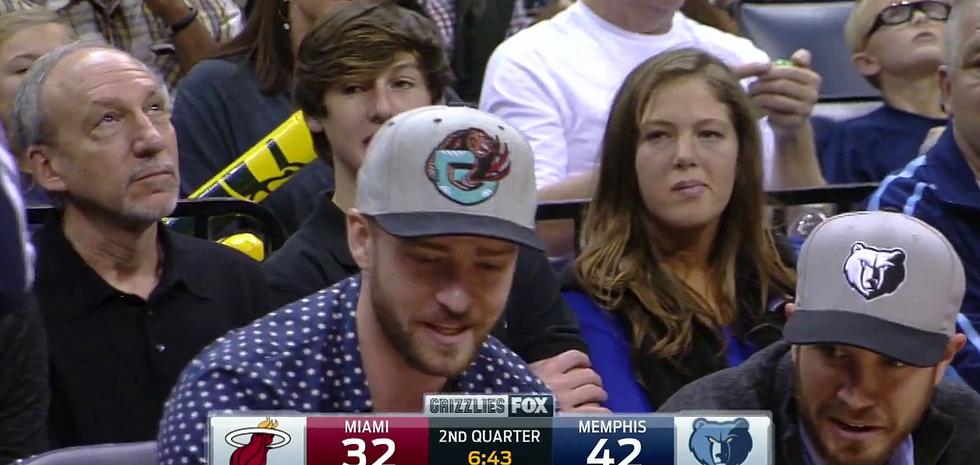 WTF : Justin Timberlake s'est reconverti en cadreur