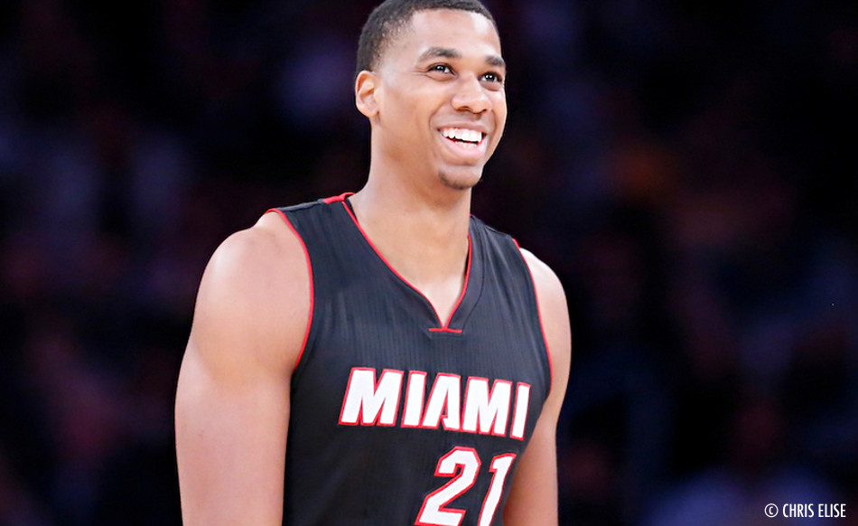 Hassan Whiteside terriblement monstrueux contre Indiana