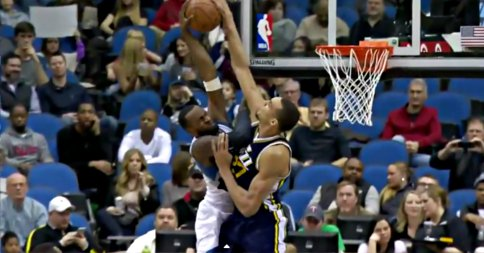 Top 10 : Rudy Gobert colle un contre violentissime !