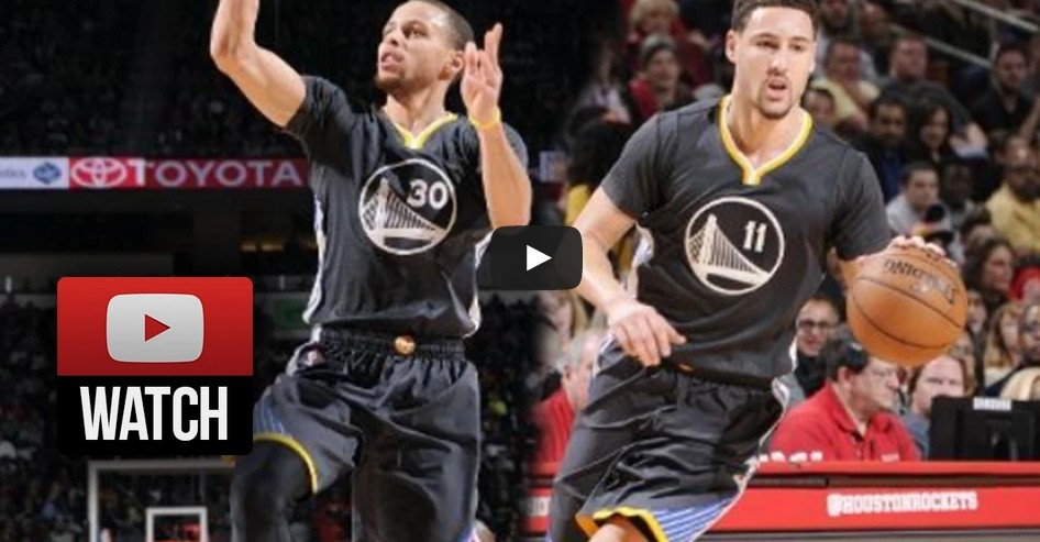 On fire : Le show des Splash Brothers à 3-points contre Phoenix !