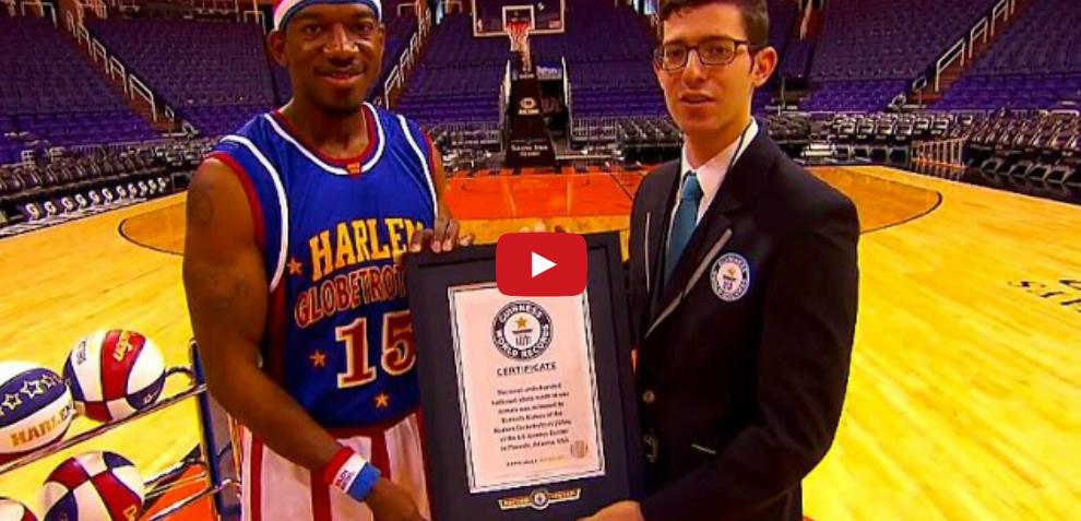 Insensé : Nouveau record du monde pour les Harlem Globetrotters