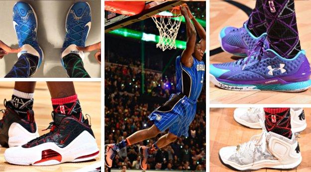 All-Sneakers Game 2015 : Qui portait quoi ?