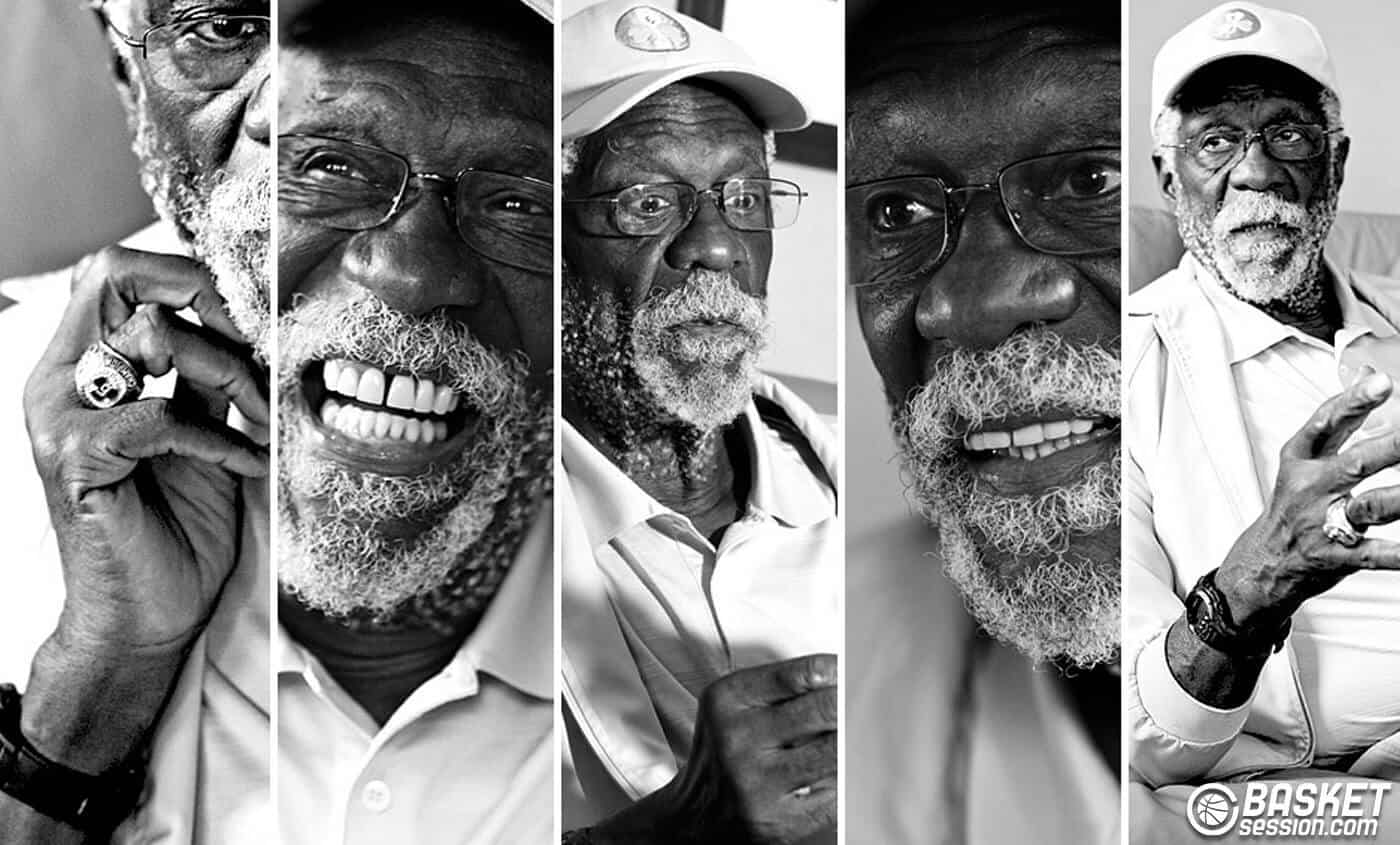 ITW Bill Russell : Natural born winner