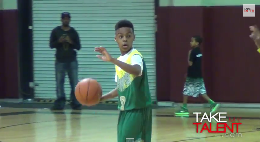LeBron James Jr. a hérité de son père !