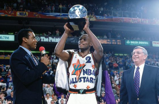 Vintage : Mitch Richmond, star inattendue du All-Star Game 1995