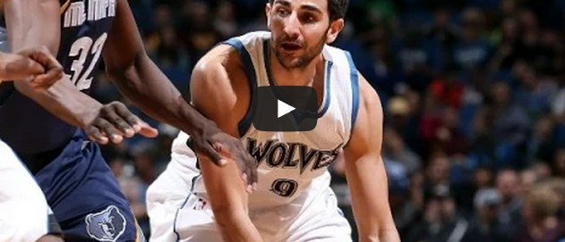 Ricky Rubio : Son Top 10 avec les Wolves