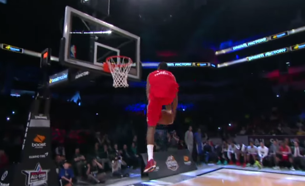 Jarvis Threatt fait le show au Dunk Contest de D-League
