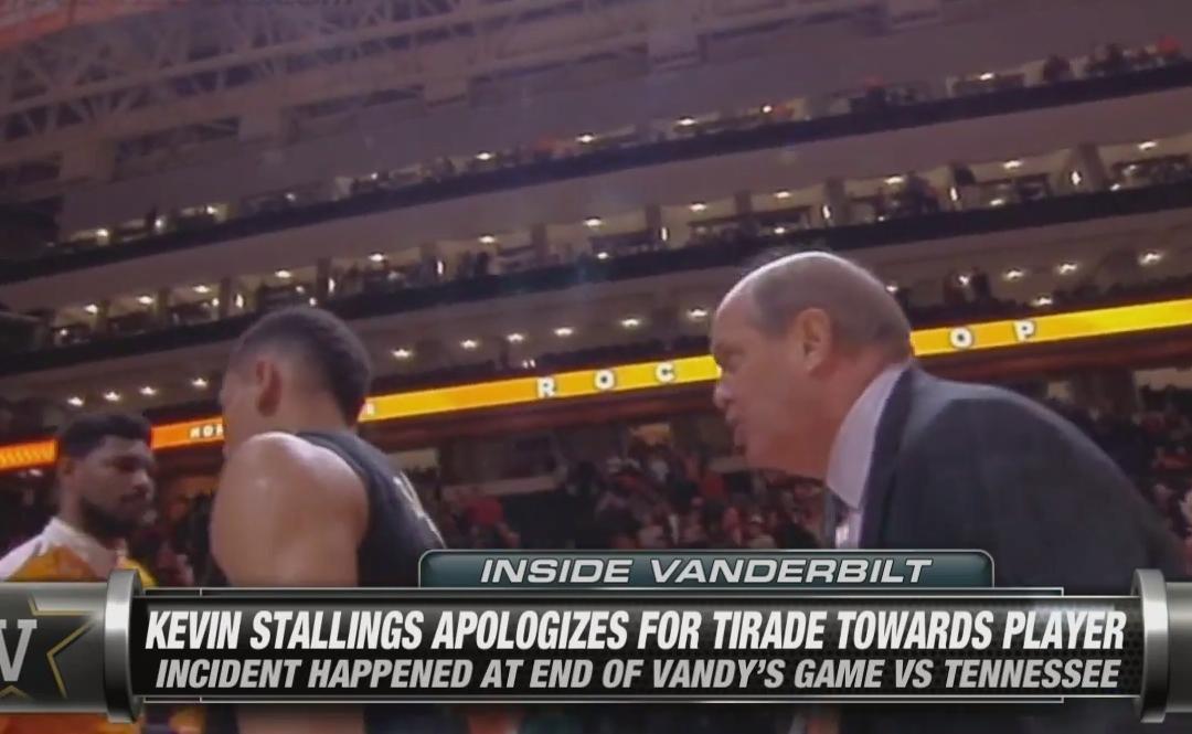 NCAA : Le coach de Vanderbilt pète un plomb