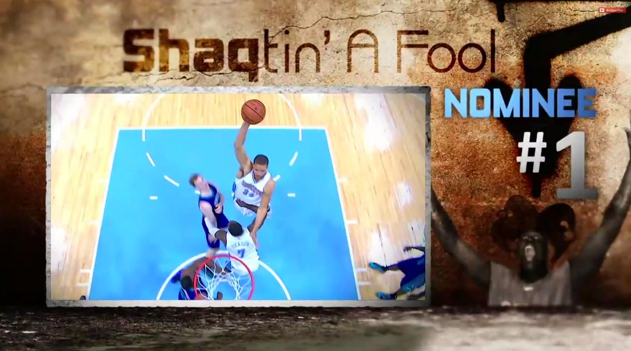 Mi-saison : Huit Shaqtin-a-Fool en un !