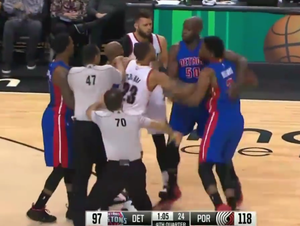 Altercation : la double expulsion de Joel Freeland et Shawn Williams