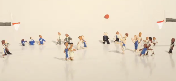 Le tir de Christian Laettner revisité en version Claymation
