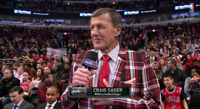 Game 6 : Standing ovation pour Craig Sager