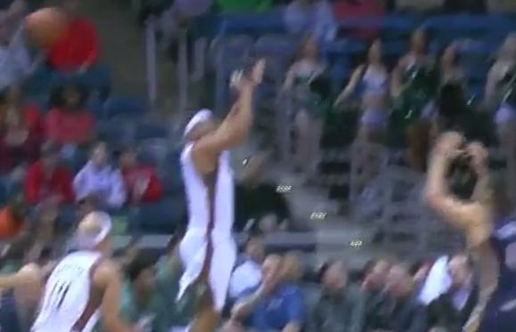 Oups : L'horrible shoot de Jared Dudley