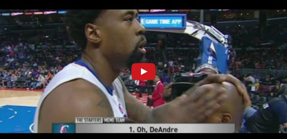 Bêtisier : DeAndre Jordan maltraite un assistant des Clippers