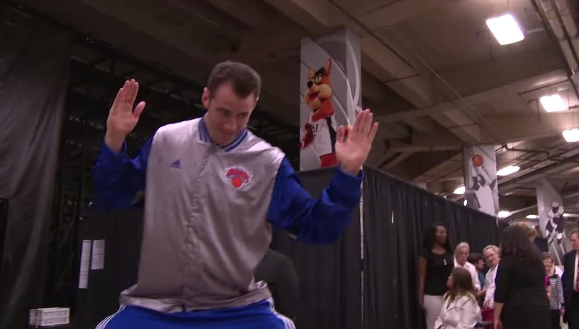 Les Knicks ont-ils le meilleur joueur/danseur de la ligue ?