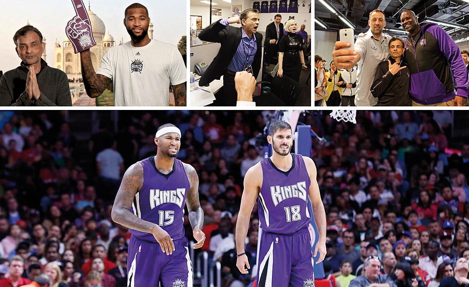 Sacramento Kings : Sacramento couine