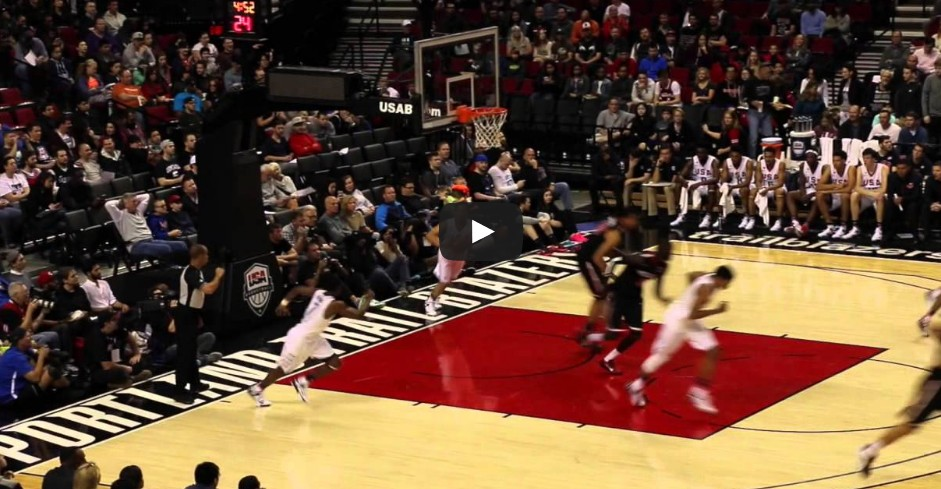 Top 10 : Les plus beaux dunks du Nike Hoop Summit 2015