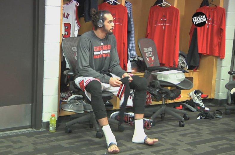 Vidéo : «Au cœur des Bulls avec Joakim Noah»