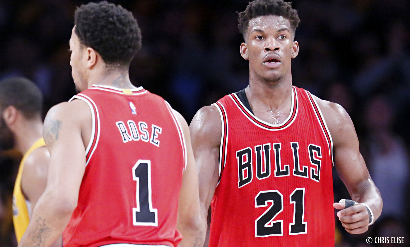 "Derrick Rose : ""Avec Jimmy Butler, je n'ai pas grand chose à faire"""