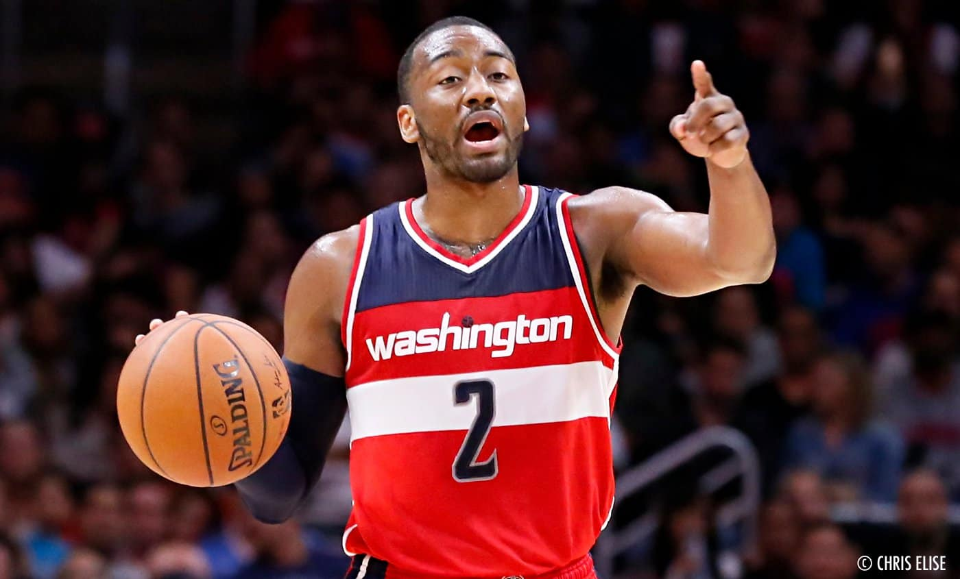 John Wall en double-double, les Wizards l'emportent face aux Pacers