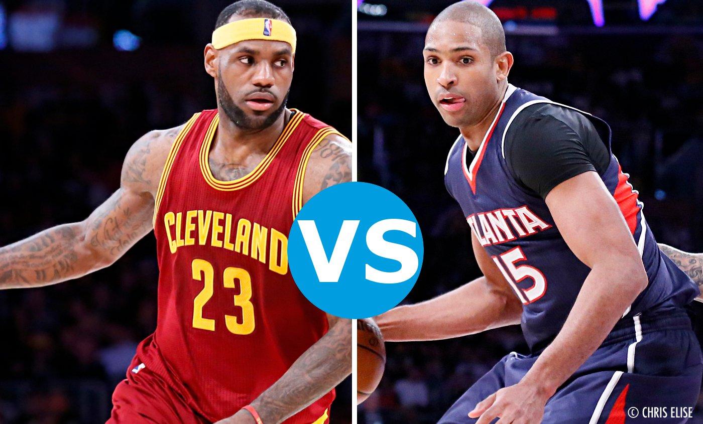 L'affiche du jour: Cleveland Cavaliers VS Atlanta Hawks (Game 3)