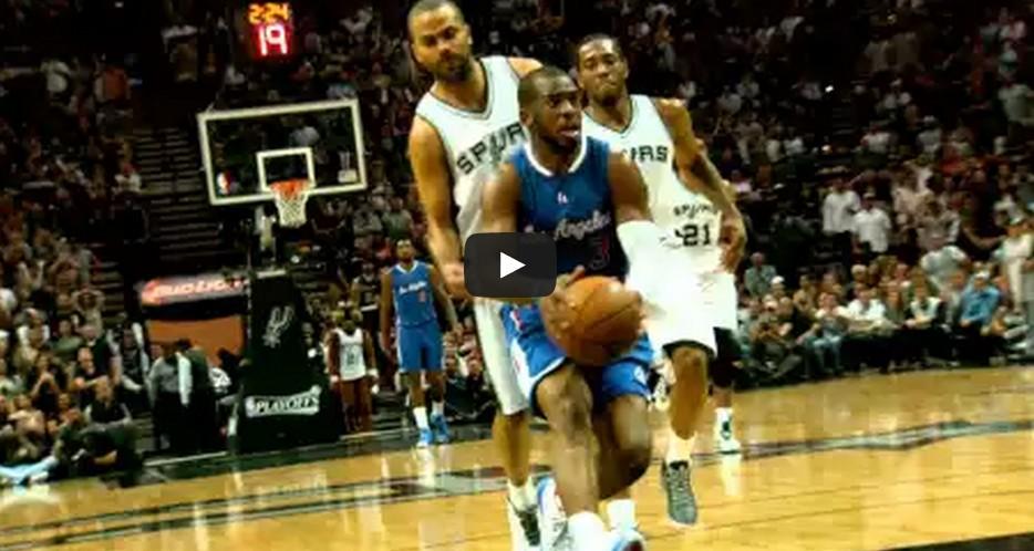 """Le meilleur de Clippers-Spurs en mode """"Phantom"""""""