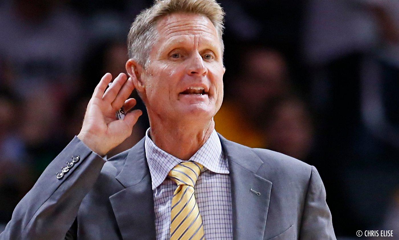 Pour devenir fort, Steve Kerr volait l'identité d'autres joueurs NBA
