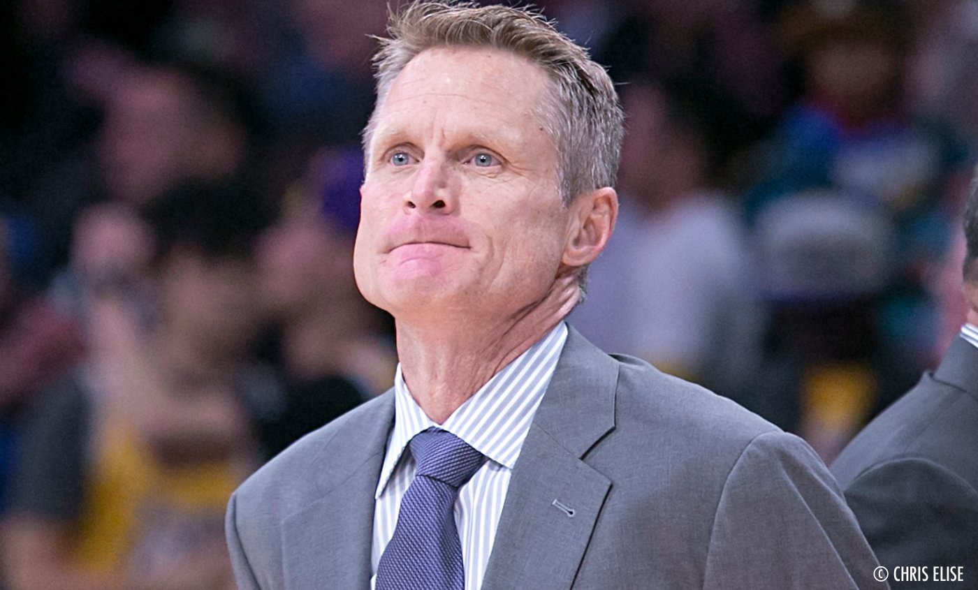 Steve Kerr nommé Coach Of the Year !