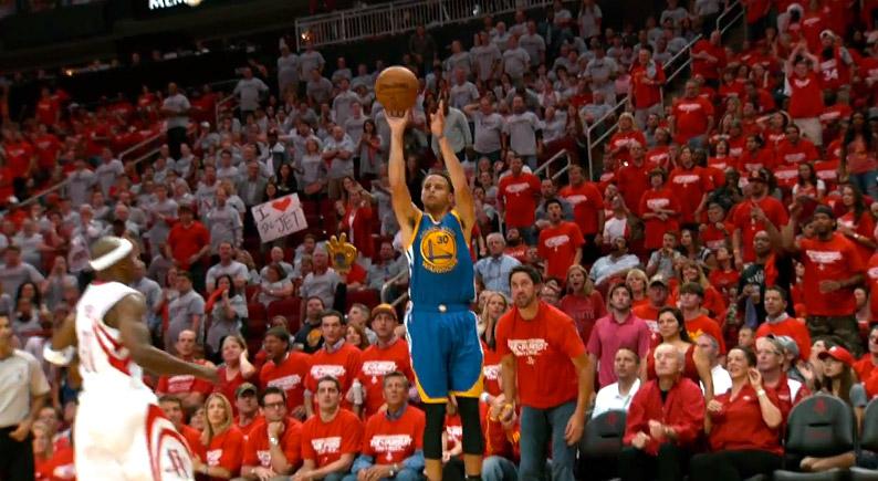 Playoffs: Stephen Curry uniquement devancé par Amare Stoudemire
