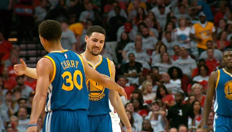 Klay Thompson et Stephen Curry incertains pour le Game 1
