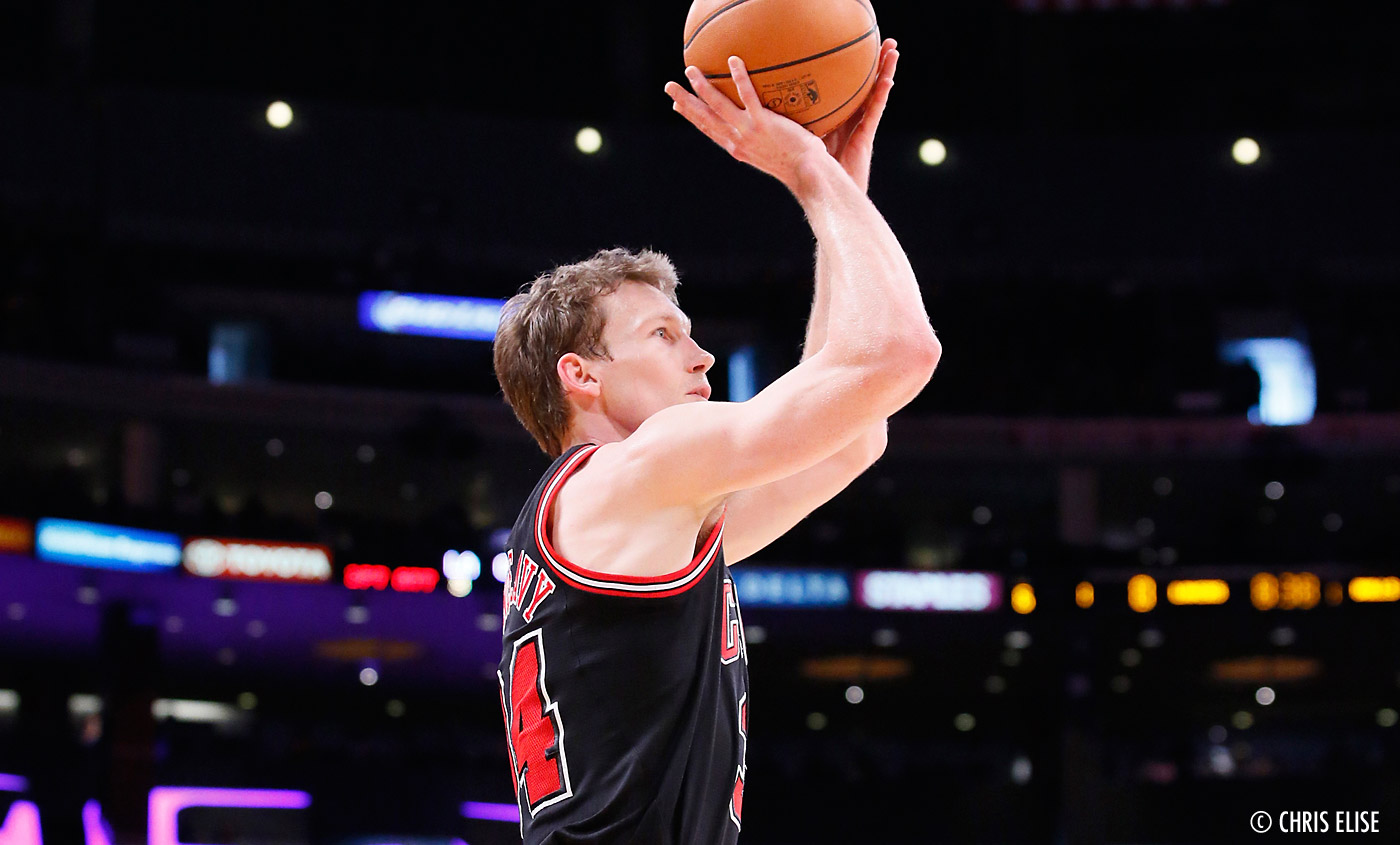 Chicago Bulls : 8 à 10 semaines d'absence pour Mike Dunleavy Jr