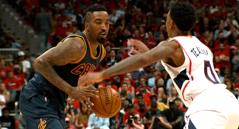 Record : J.R. Smith plante 8 paniers à trois-points