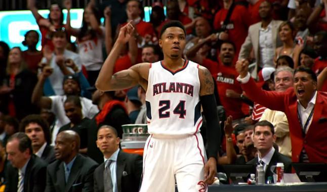 Les Knicks renversés par Atlanta et Bazemore