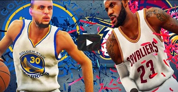 Mix : Le preview des finales à la sauce NBA2K